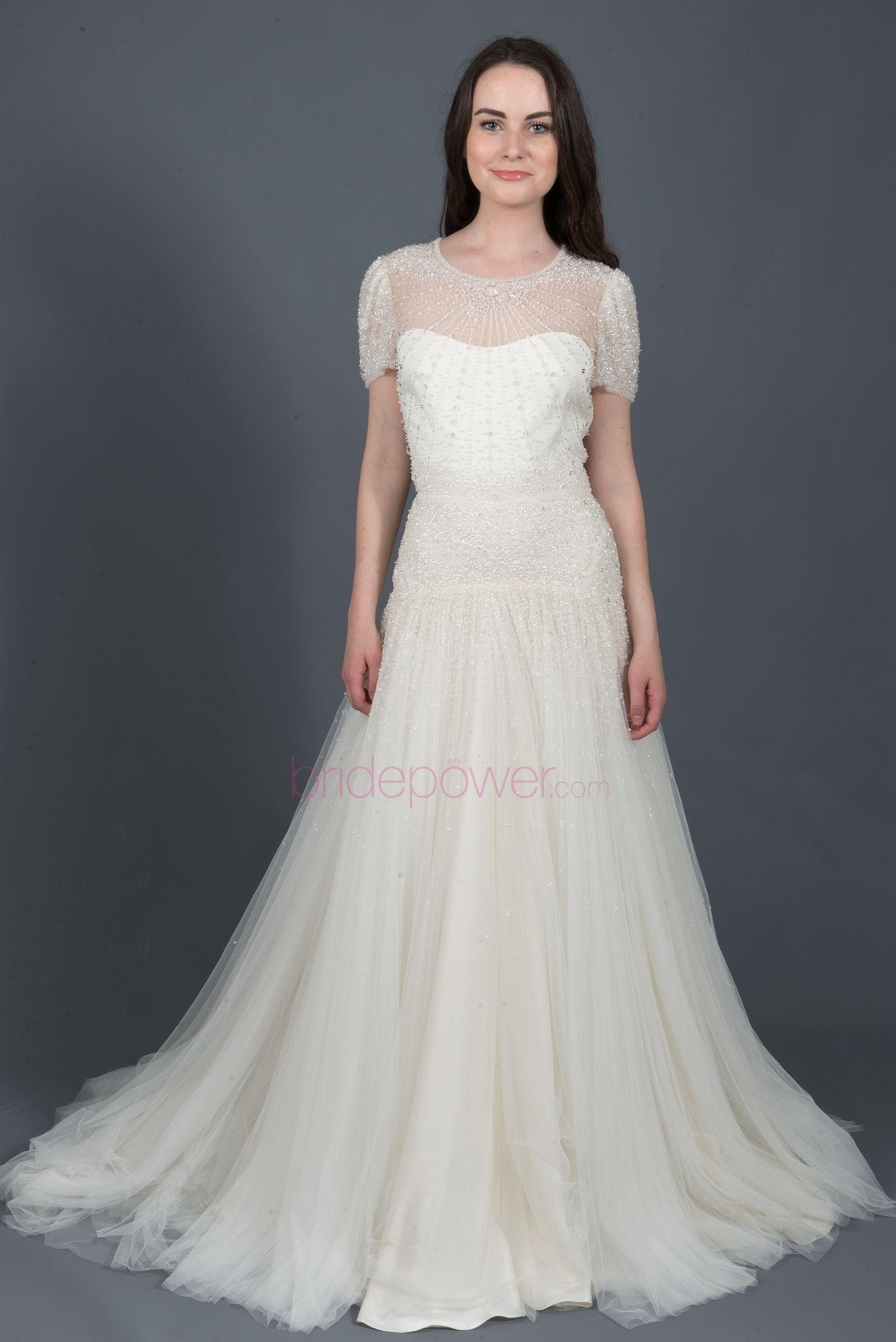 White Dress Jenny Packham Sheath 19910 Https Bride Product