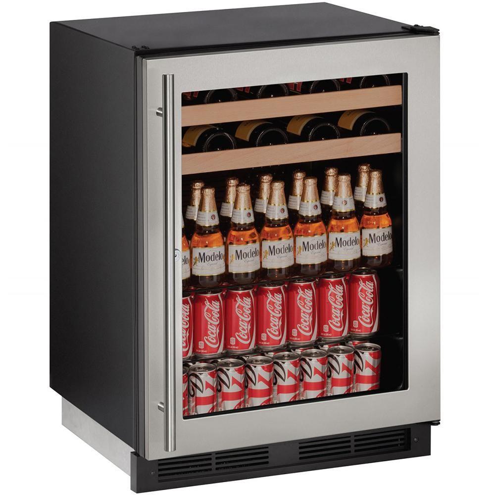 U Line 1000 Series 24 Inch 5 4 Cu Ft Built In Beverage