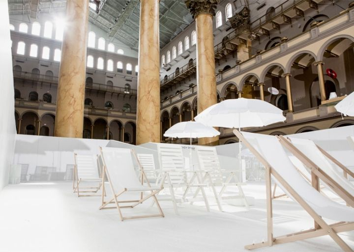 The Beach Installation By Snarkitecture At National Building Museum Washington DC Retail Design