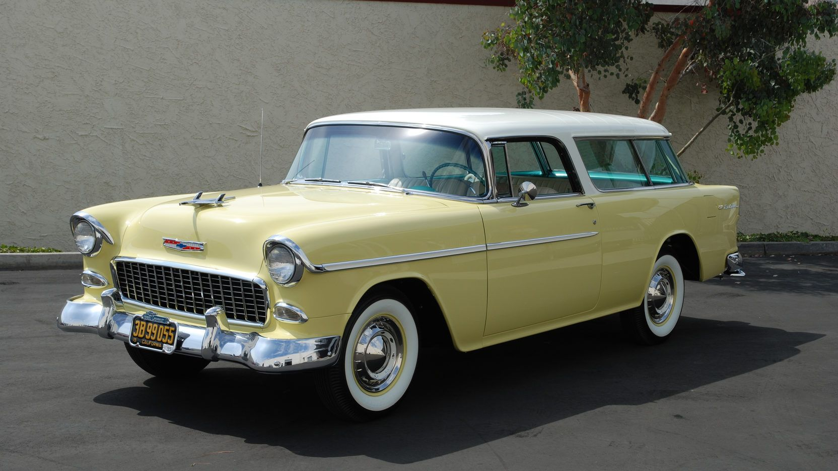 1955 Chevrolet Nomad Presented As Lot S134 At Anaheim Ca 1955