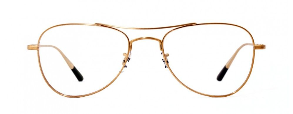OLIVER PEOPLES Kincaid Antique Gold