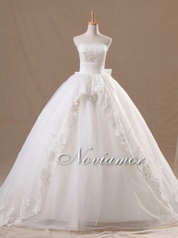 Princess Wedding Dresses | 2013 Retro Luxury Strapless Sweetheart Princess Wedding Dress BW1408