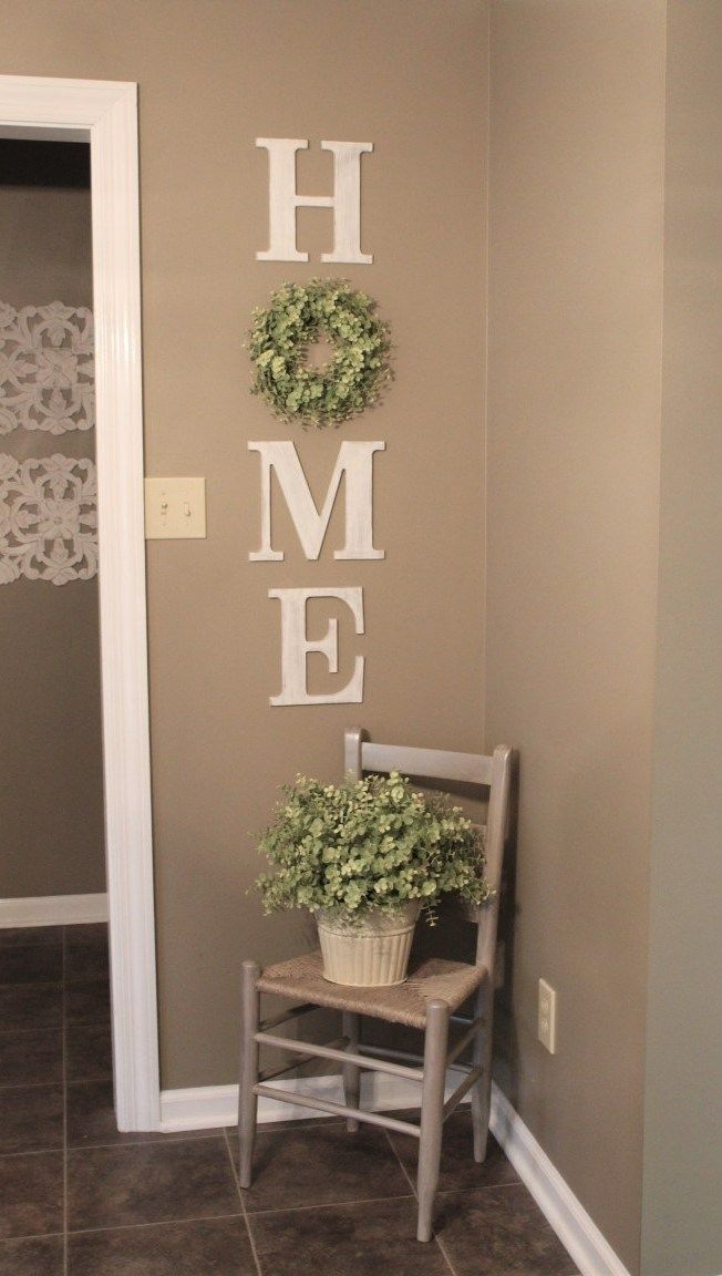 DIY HOME WREATH WALL DECOR - Dekoration an der Haustür Ideen