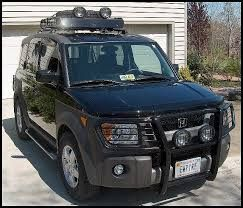 Honda Element Roof Rack Spare Tire Google Search Honda Element Camping Honda Element Accessories Honda Element