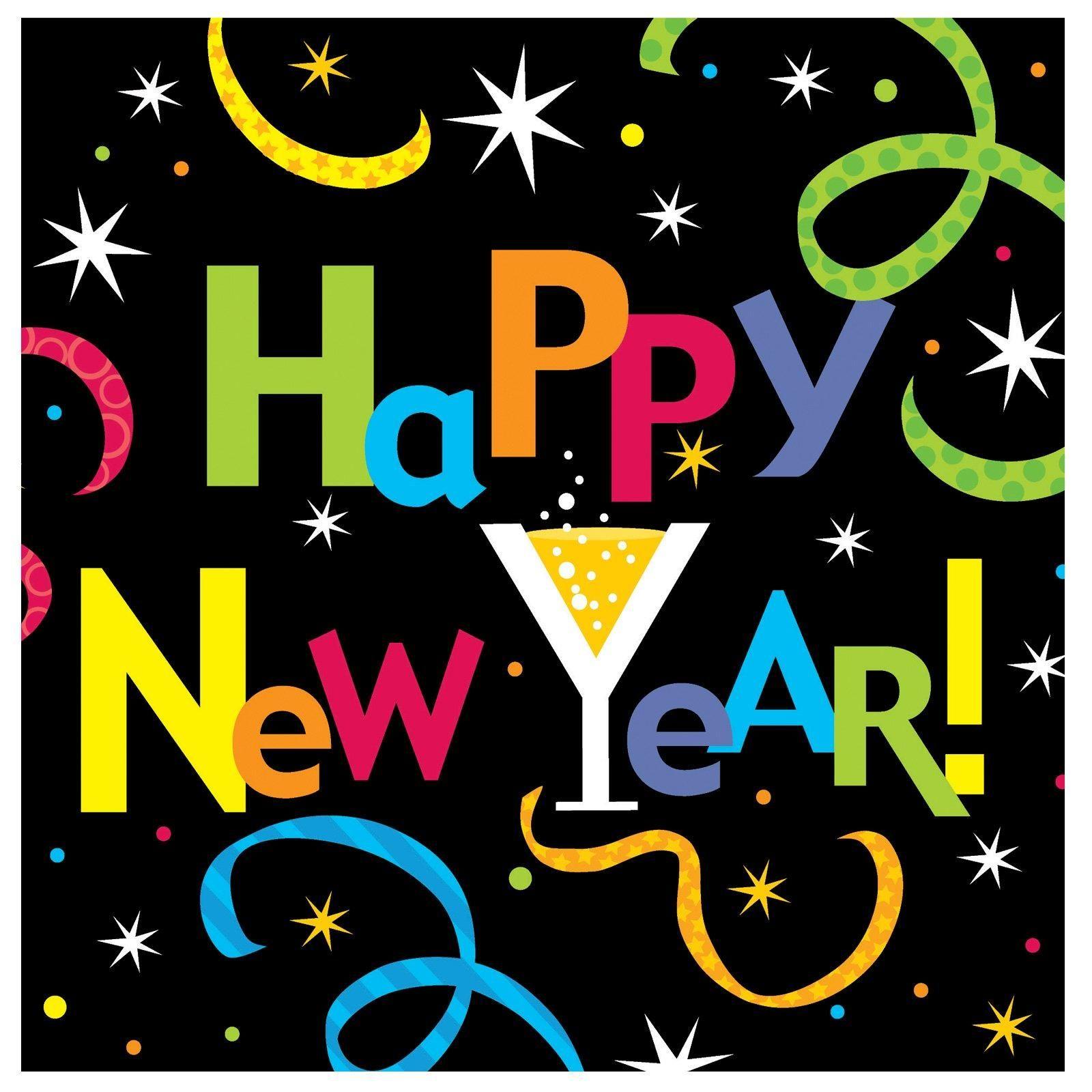 Happy New Year! Gelukkig nieuwjaar, Nieuwjaar, Gelukkig