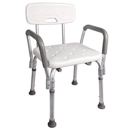 Calhome Adjustable Medical Shower Chair Bathtub Bench Bath