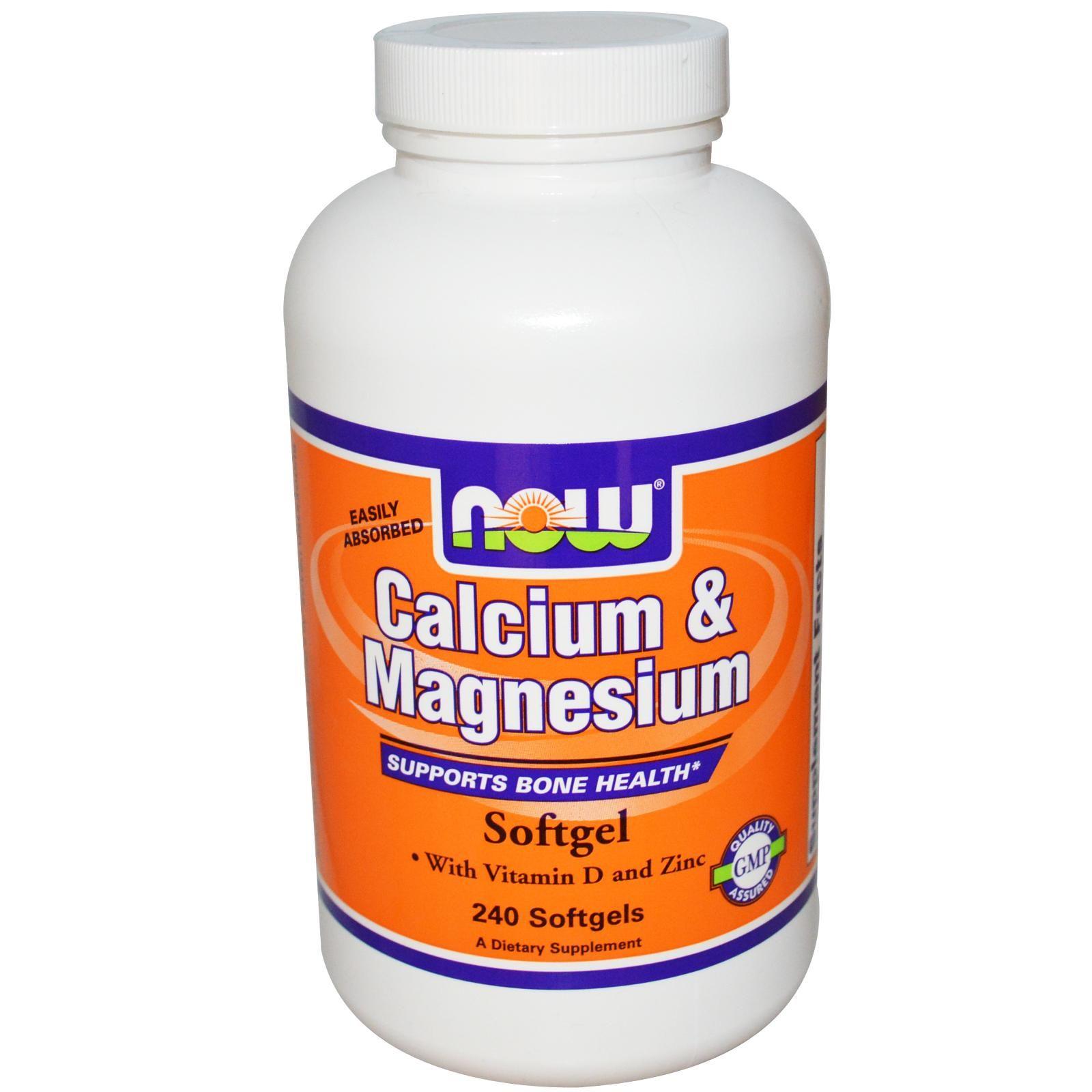 Now Foods, Calcium & Magnesium, with Vitamin D3 and Zinc