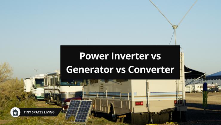 【Must Know】Inverter vs Generator vs Converter Full Comparison
