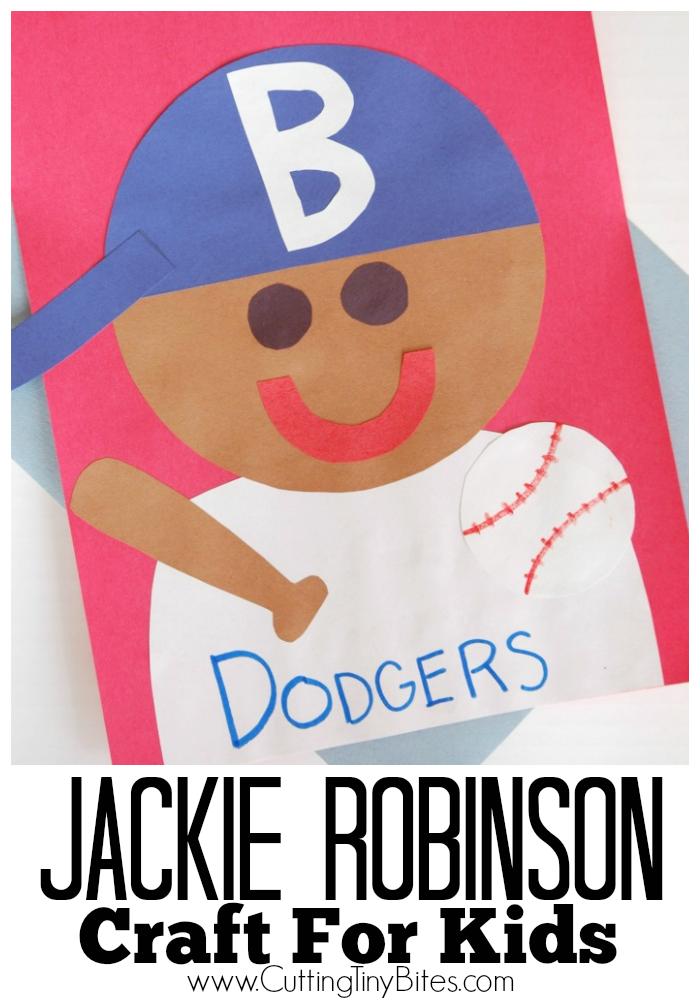 Jackie Robinson Craft Kid Blogger Network Activities