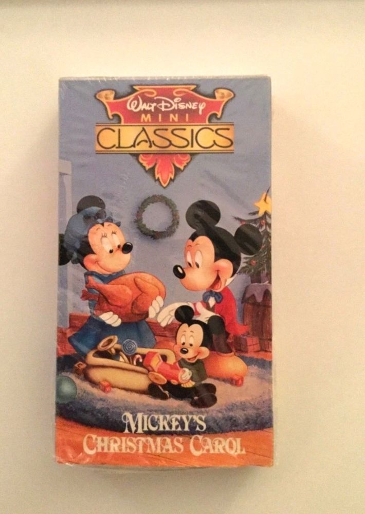 Mickeys Christmas Carol Dvd.Mickey S Christmas Carol Walt Disney Mini Classics Vhs Movie