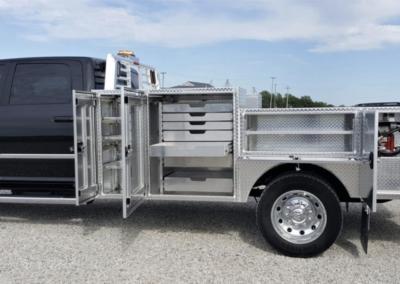 Service Truck Tool Box >> Custom Service Body Work Trucks Truck Flatbeds Truck