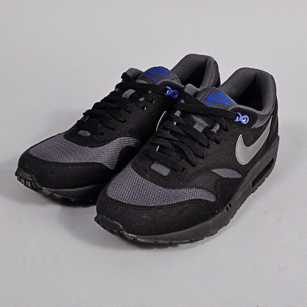 Nike Air Max 1 Shoes Black/Dark Grey Black shoes