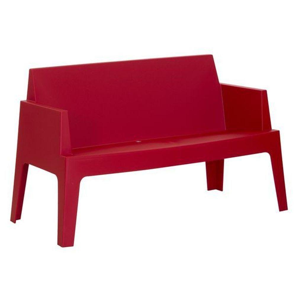 Gartenbank Rot Kunststoff | Gartenbank Rot | Pinterest