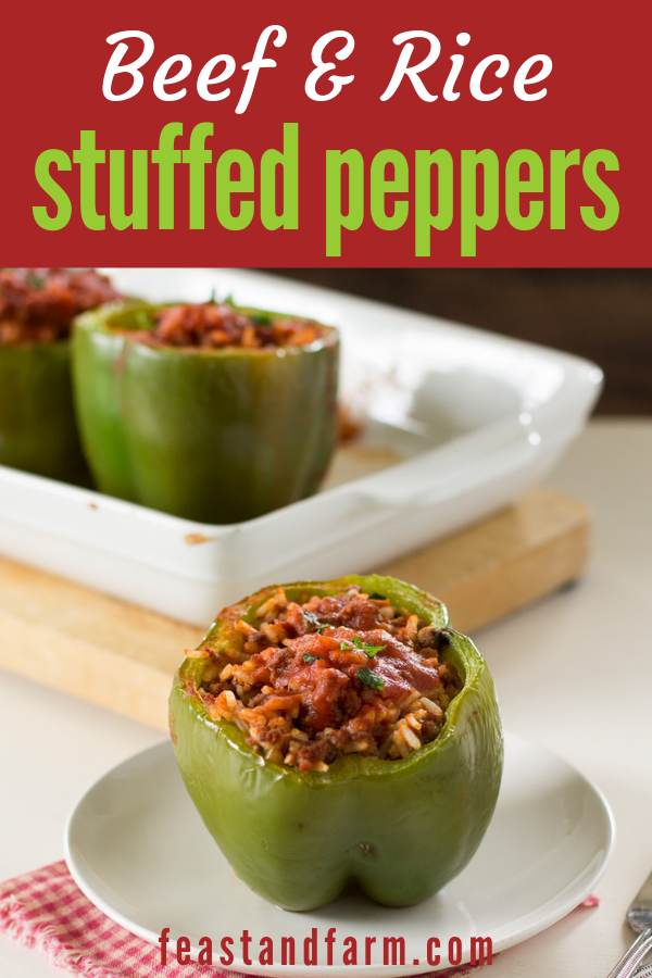 Classic Stuffed Bell Peppers Recipe Healthy Homemade Recipes Stuffed Peppers Easy Healthy Meal Prep
