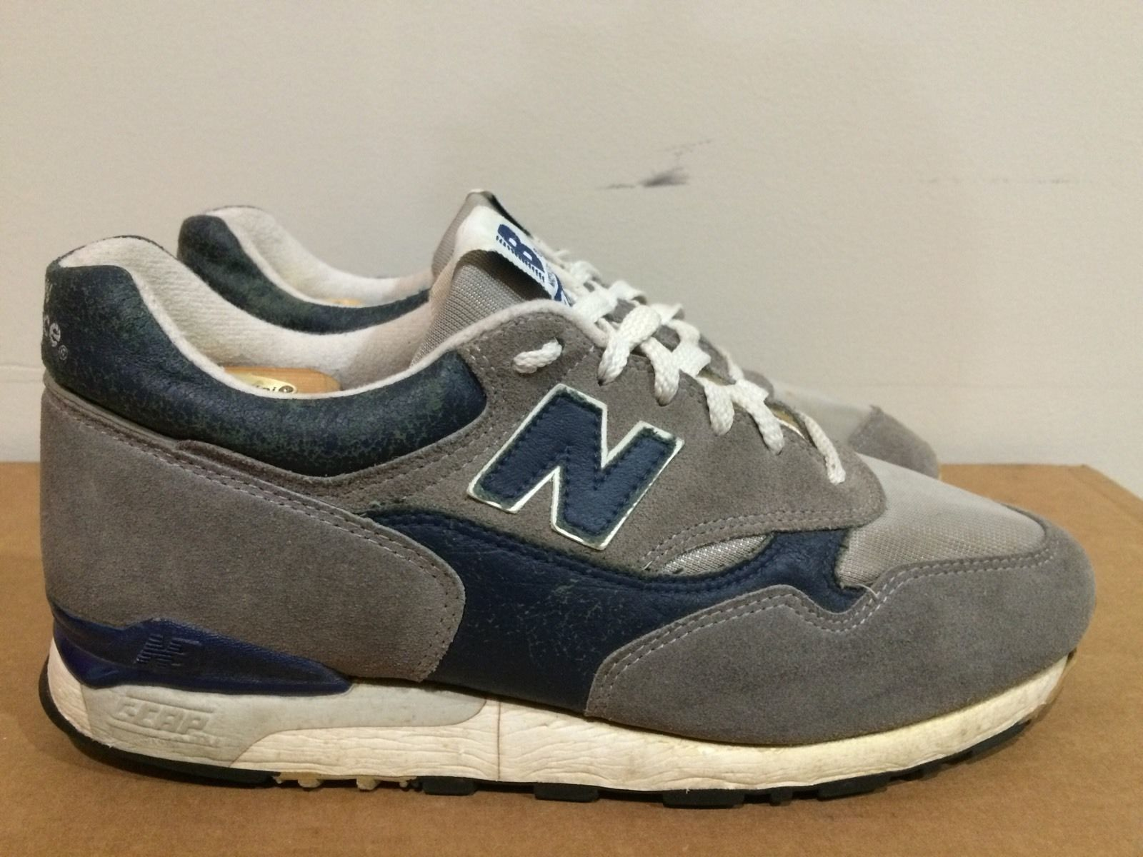 8815e7f42feda Details about New Balance 495 1990s Rare Vintage Made In USA Size 8 ...