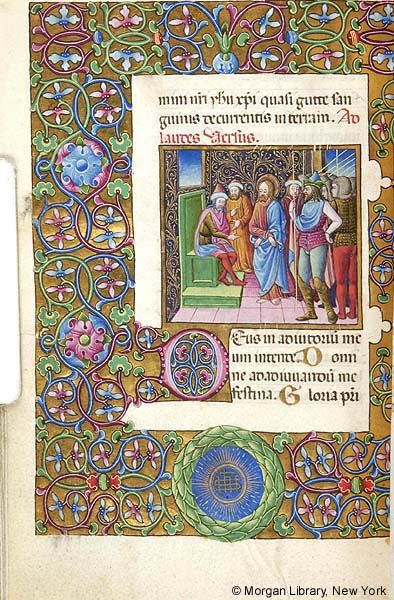 Book of Hours, MS M.454 fol. 67v - Images from Medieval and Renaissance Manuscripts - The Morgan Library & Museum