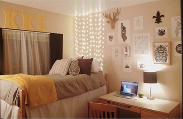 If Your Allowed To Hang String Lights In Your #dorm Room, There Are Many Part 54