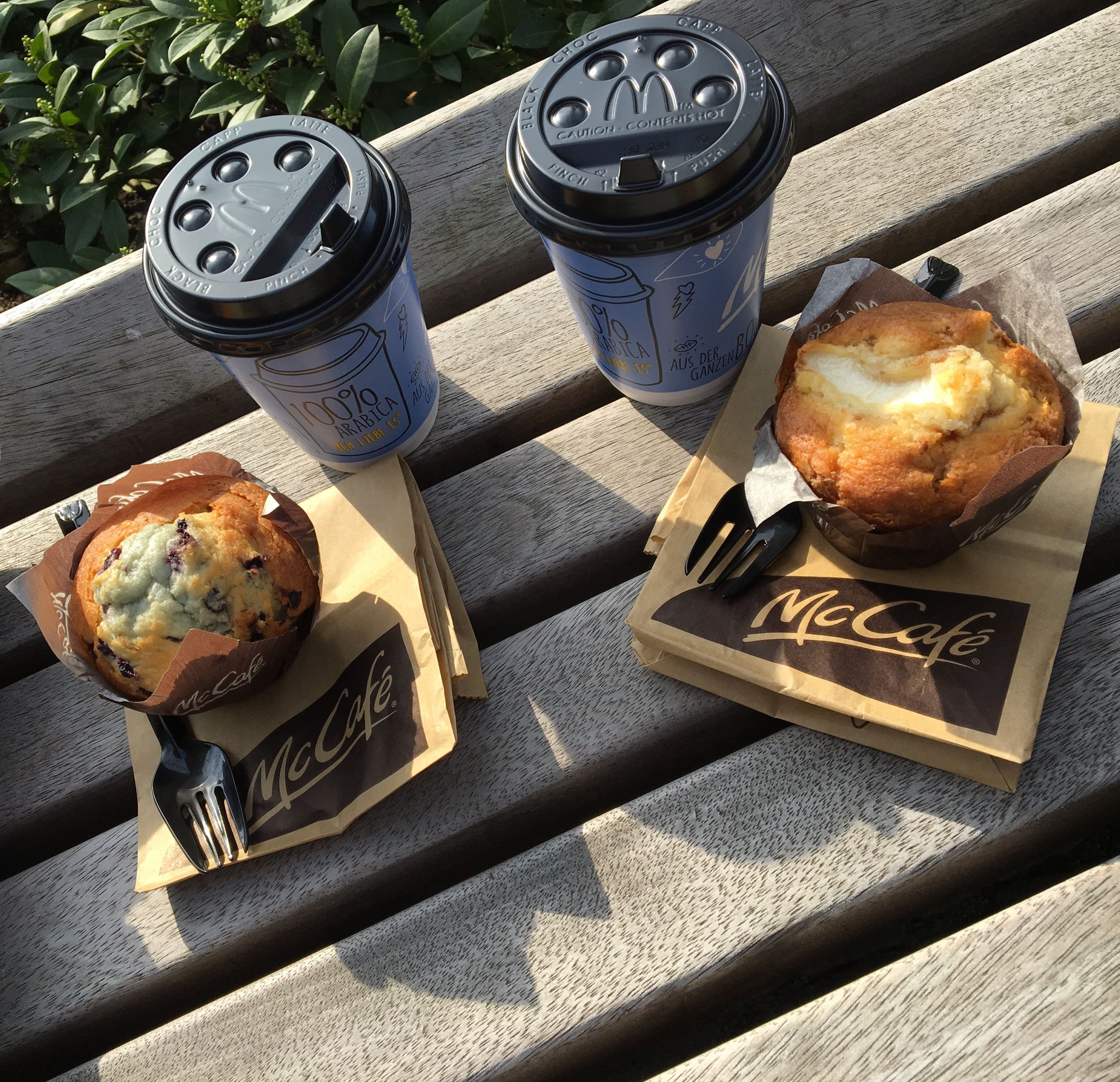 #mccaffe #caffee #mcdonalds #sunny #snack #muffin #recovery #sweets #good