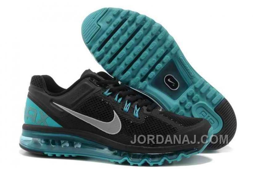 info for e3351 e0af6 Nike Air Max+ 2013 Running Atoms Black Blue Shoes