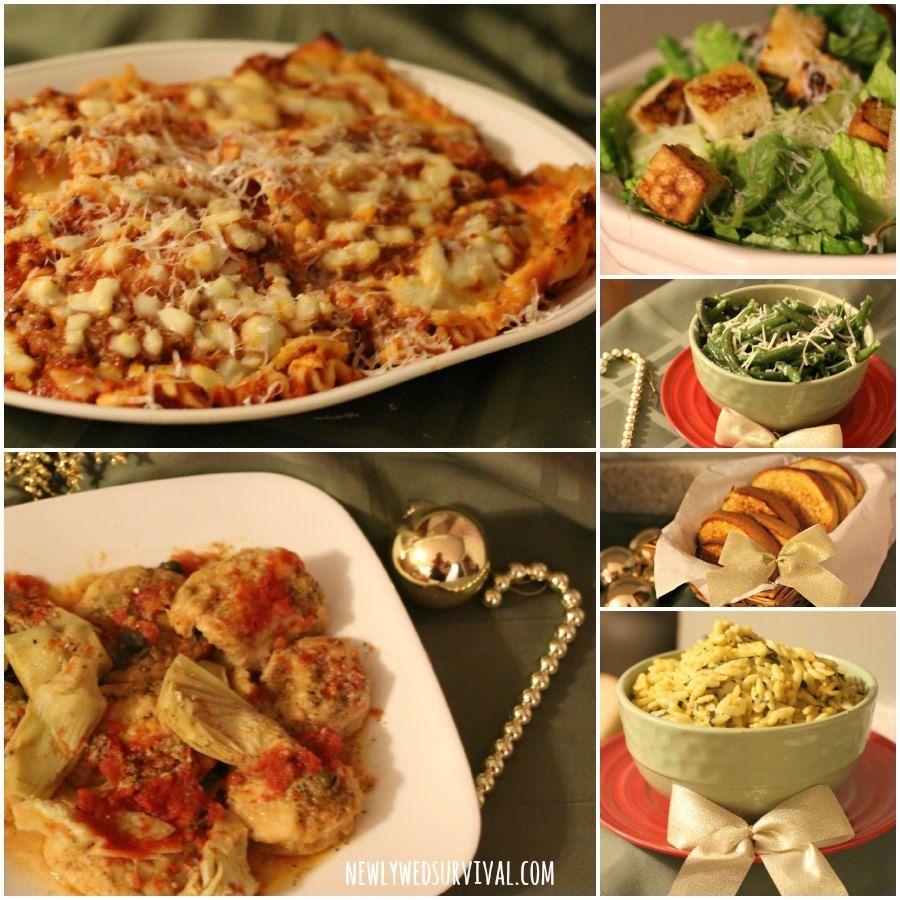 italian dinner menu ideas for a party