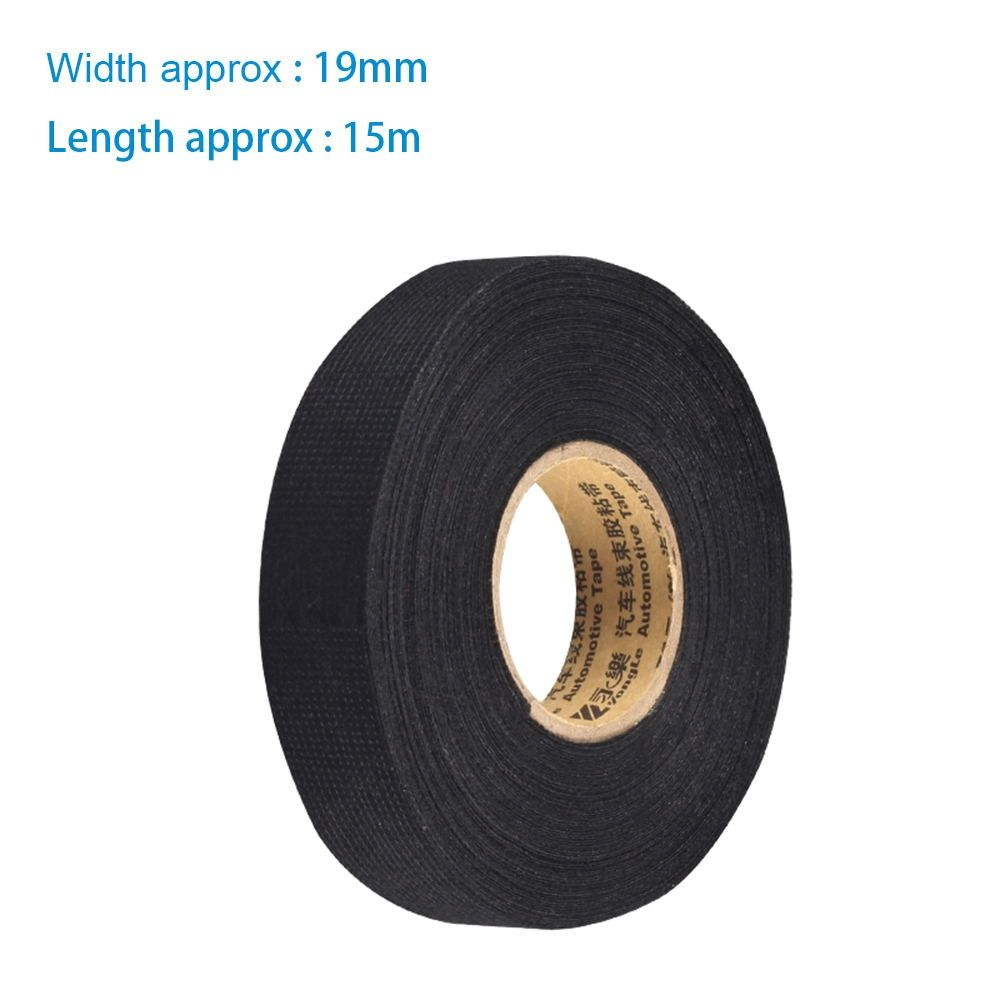 small resolution of 1pcs 0 3mm 1 9cm 15m fabric cloth tape automotive wiring harness glue high