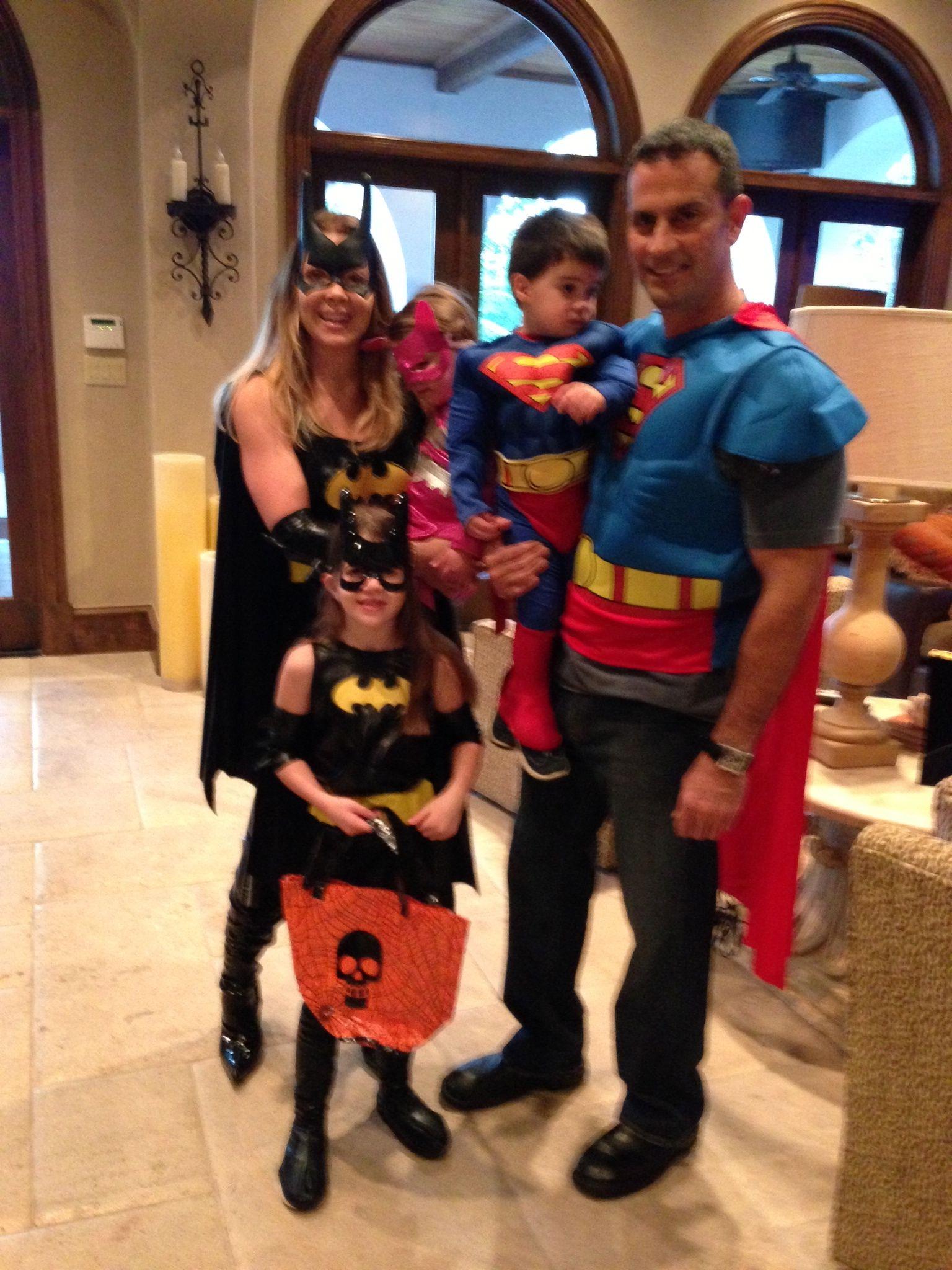 super hero family costume - Heroes Halloween Costumes