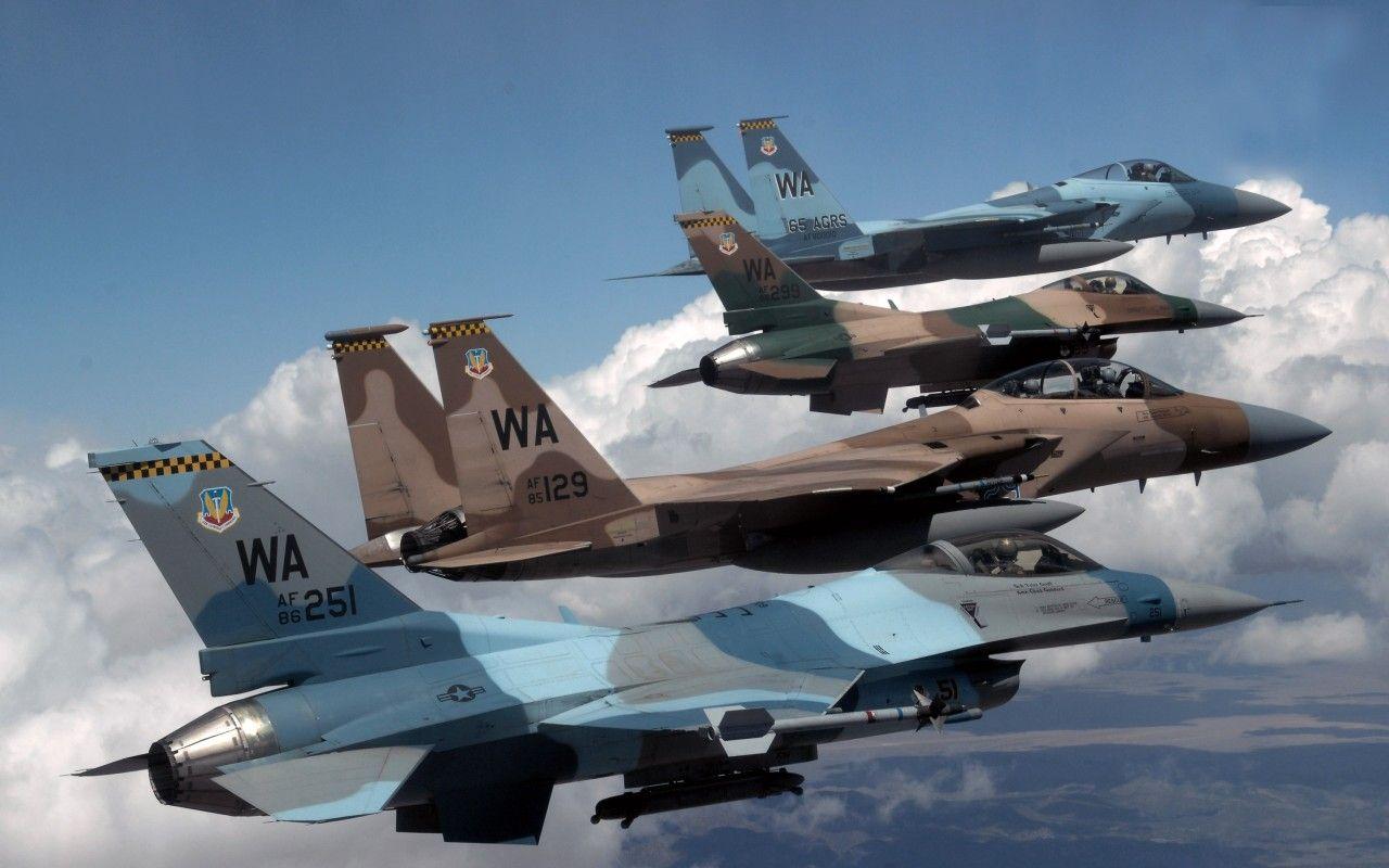 Обои Самолёт, истребитель, falcon, перед, fighting. Авиация foto 11