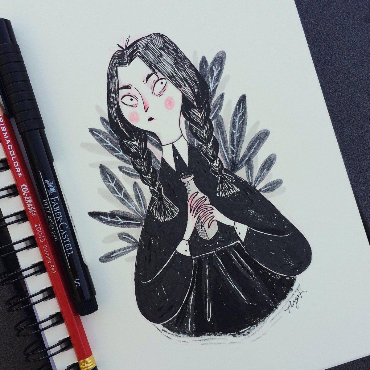 Inktober Hashtag On Twitter Art Illustration Cute Art