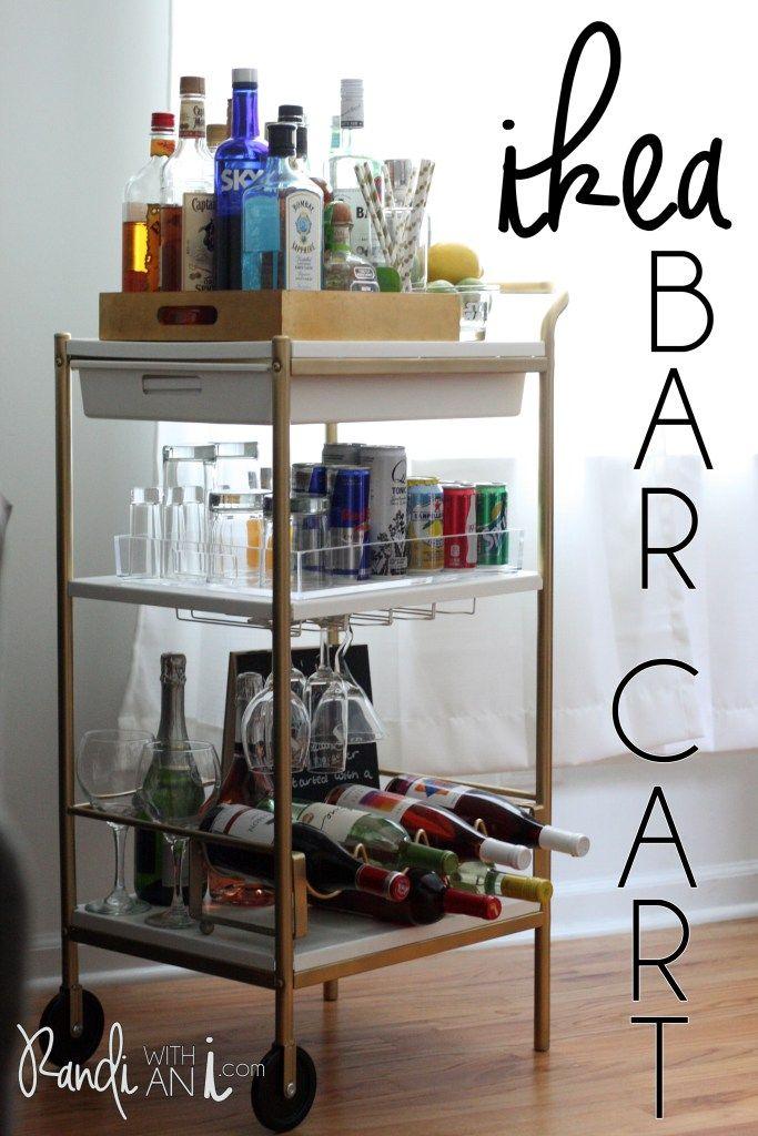 Ikea Bar Cart Hack