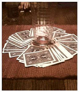Ring Of Fire Drinking Game Drinking Games Waterfall Drinking Game Playing Card Deck