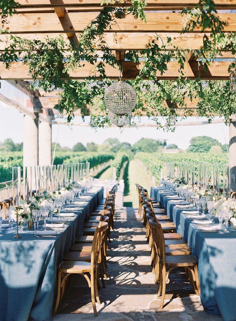 A New York Rangers Player S Vineyard Wedding In The Hamptons Vineyard Wedding Venue Hamptons Wedding Vineyard Wedding