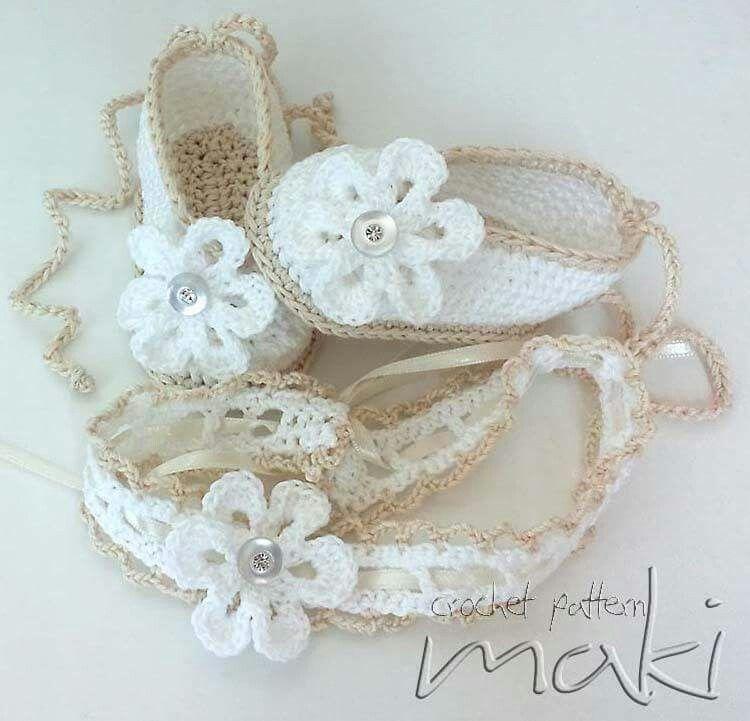 Zapatitos | Crochet | Pinterest | Croché, Ganchillo crochet y ...