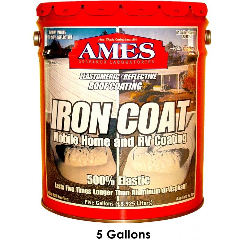 Ames'® Iron Coat® Metal Roof Paint Roof coating, Metal