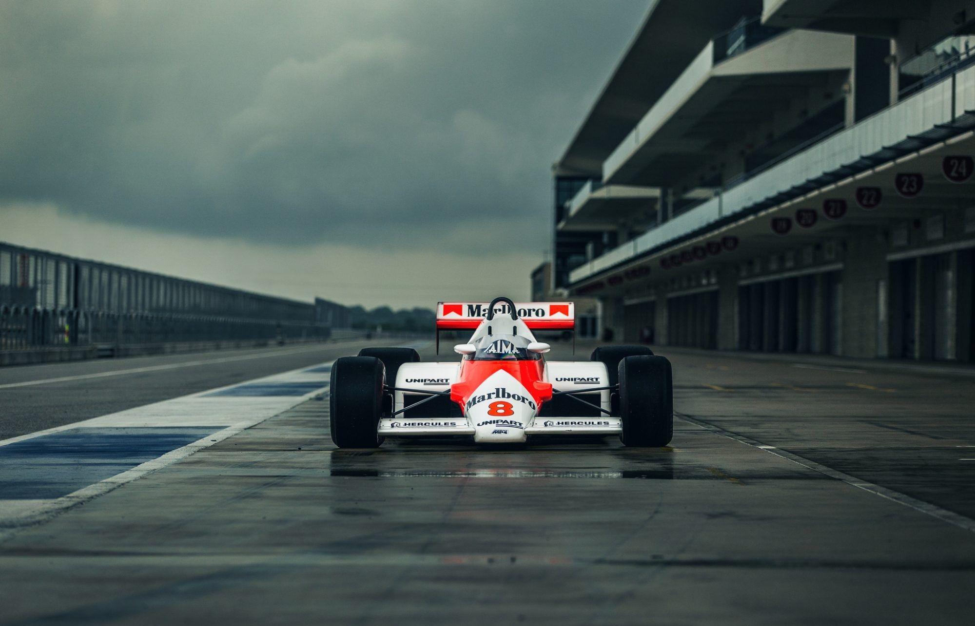 Niki Lauda's Formula 1 McLarens