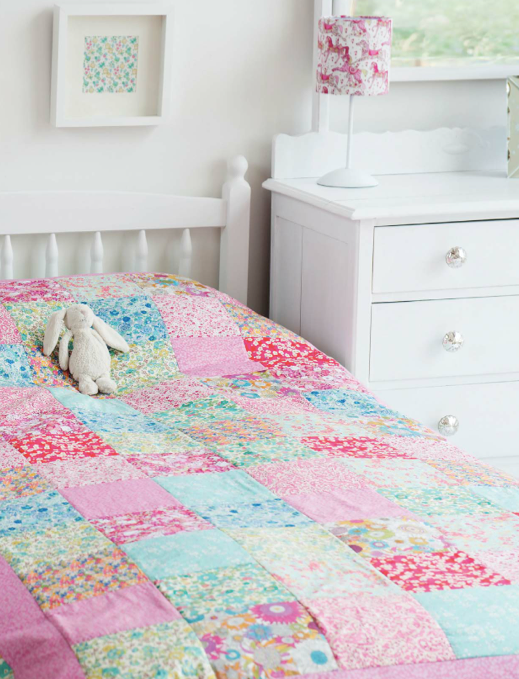 Alice Caroline Liberty Squares Quilt | Sewing- I want to make one of ...