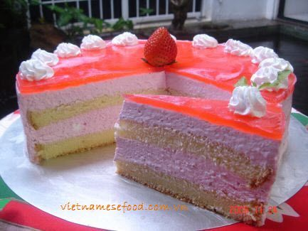 Strawberry mousse cake recipe bnh mouse du ty ngt strawberry mousse cake recipe bnh mouse du ty sisterspd