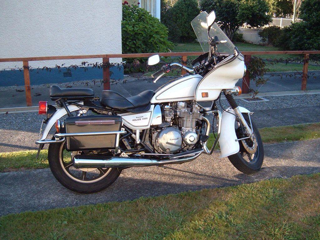 Kawasaki KZ1000 Police | Motorcycle | California highway patrol