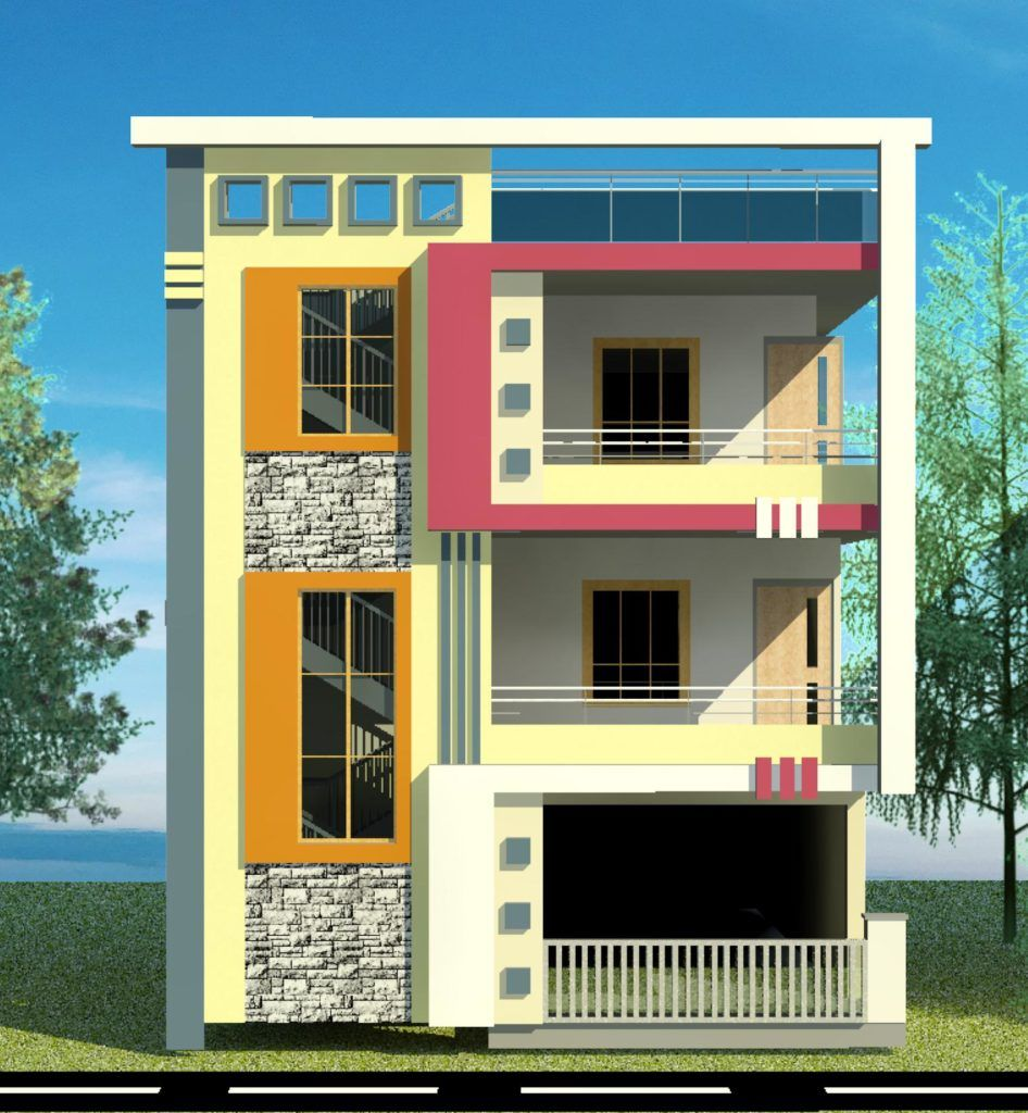About A S Constructions And Developers In 2020 Small House Elevation Design Small House Design Exterior Small House Elevation