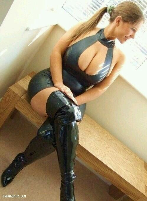 Only big tits latex boots topic