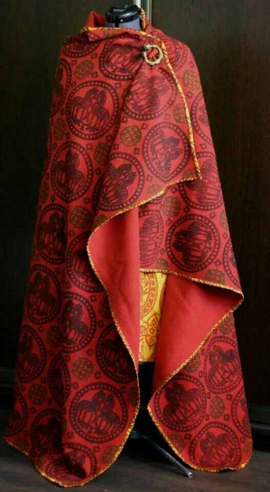 Cloak From Savelyeva Ekaterina....a modern reproduction...this woman is amazing!