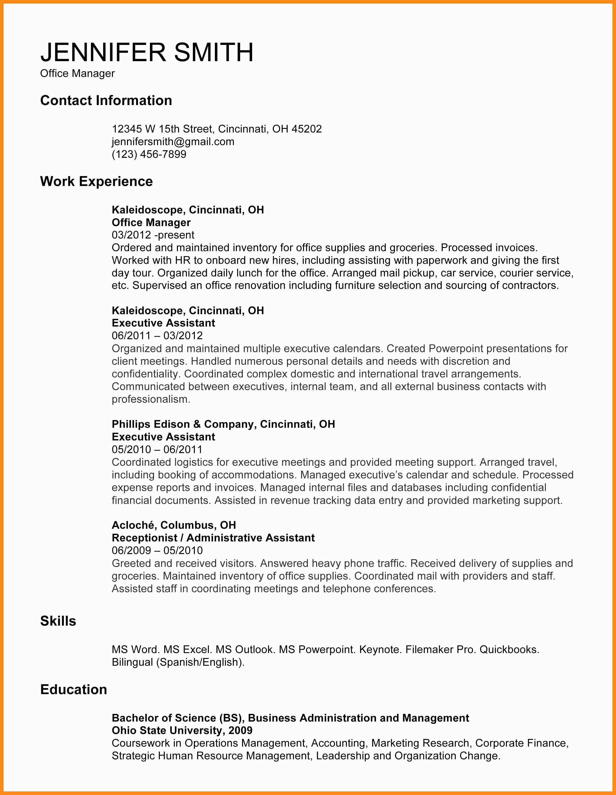 Wall Street Oasis Resume Template Awesome 12 13 Ministry Resume Templates For Word