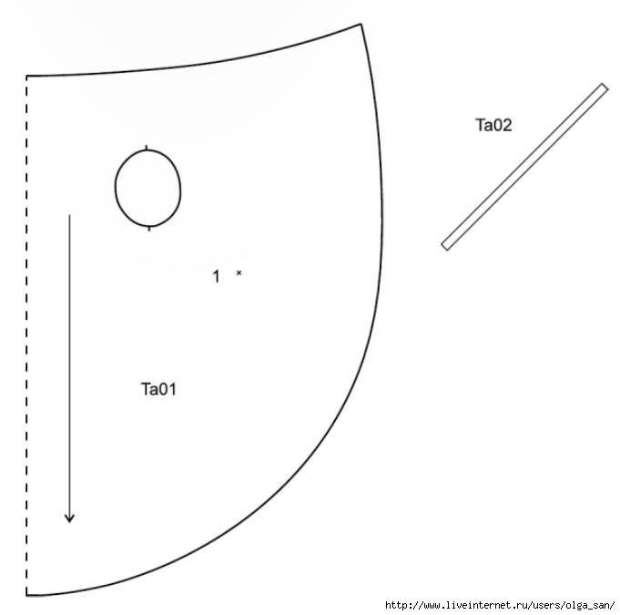 Cabo con un ala muy simple (patrón) / Los patrones simples / SECOND ...