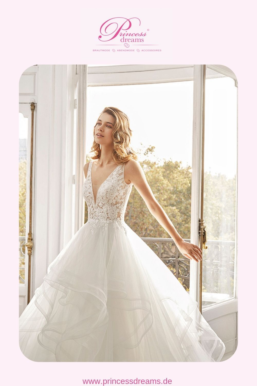 Ein wunderschönes Brautkleid von Rosa Clara (Aire Barcelona / Alma