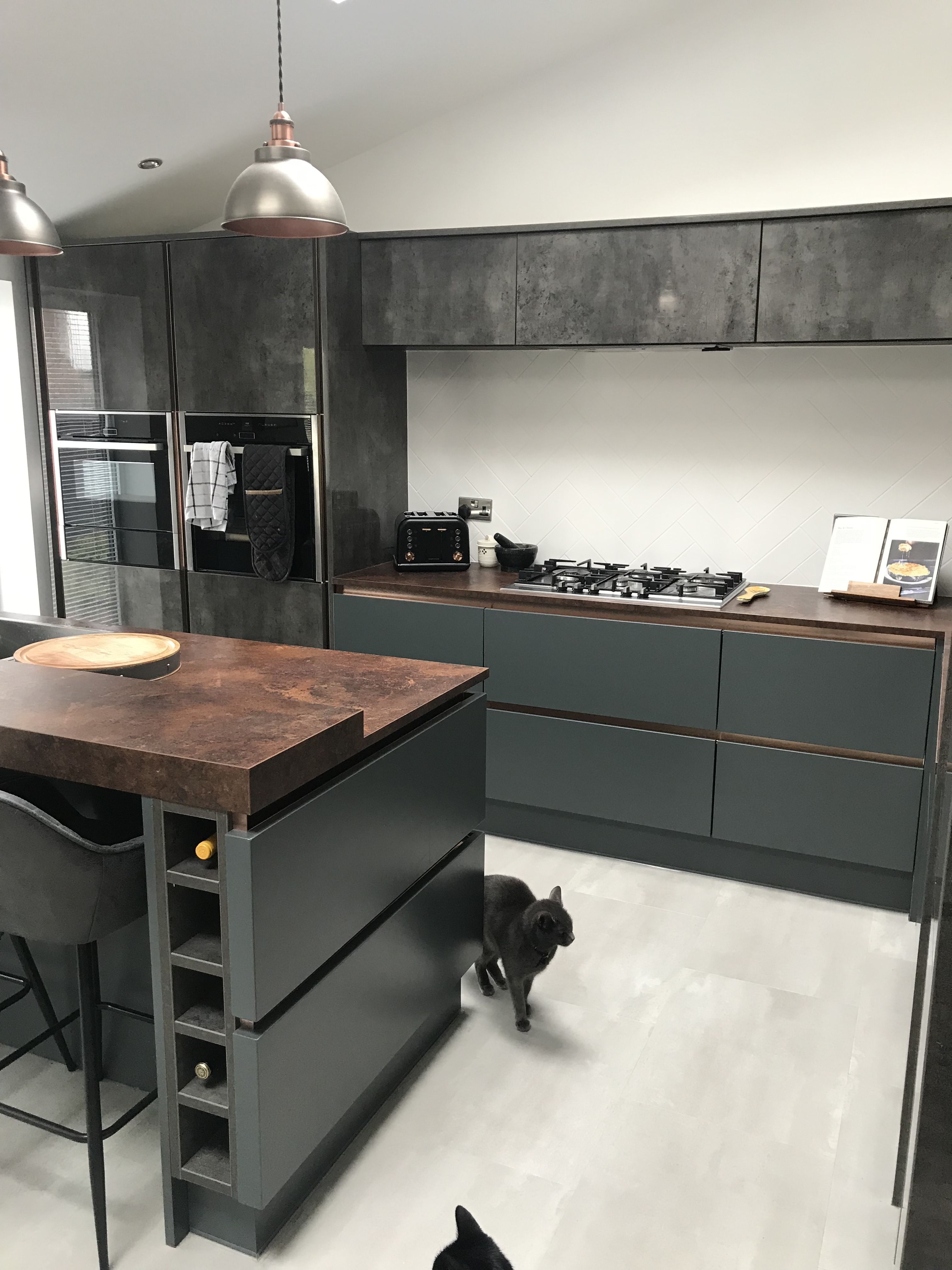 Our new wren kitchen. (With images) Modern grey kitchen