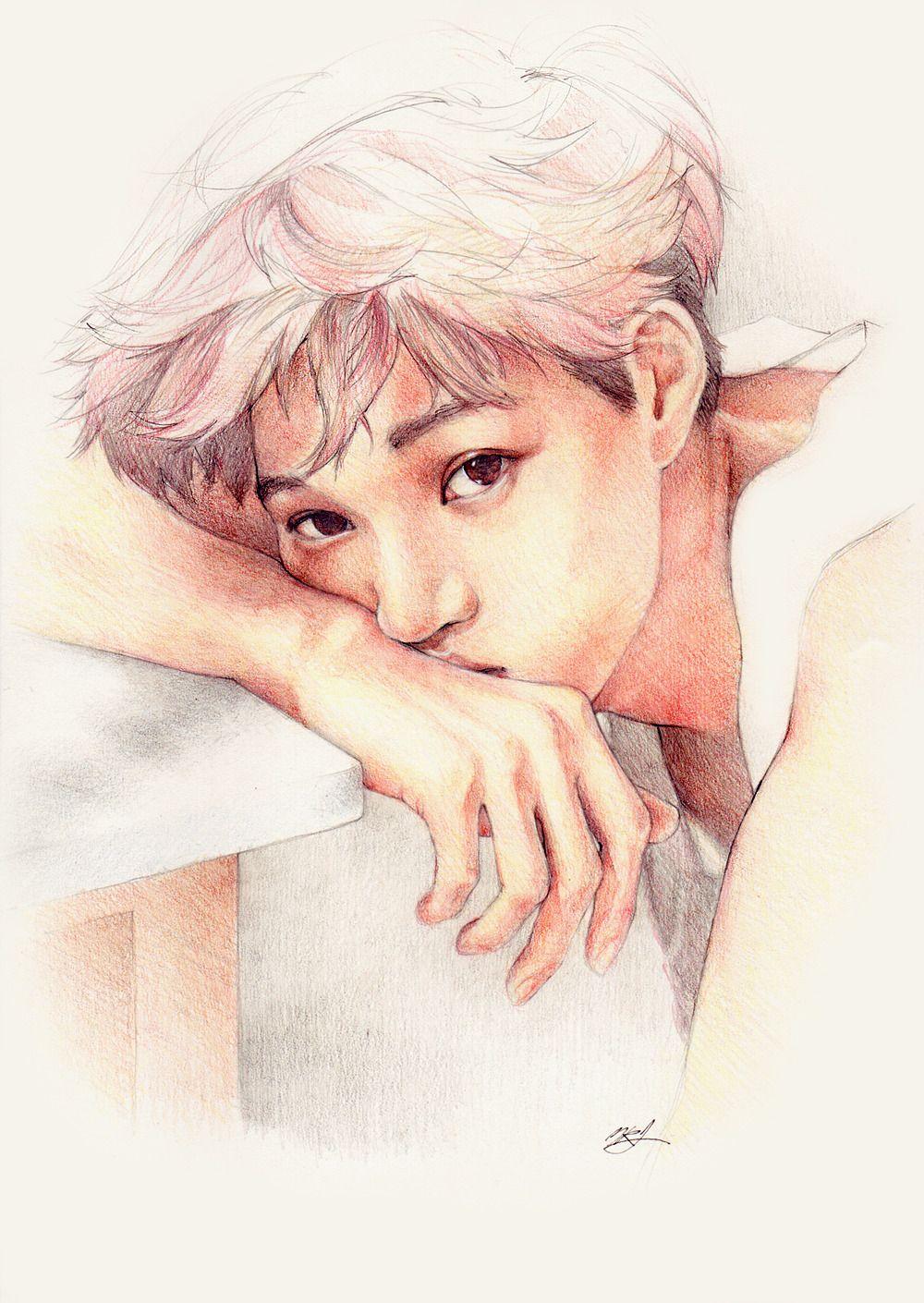 Kaiternity Exo Fan Art Exo Art Exo Drawing