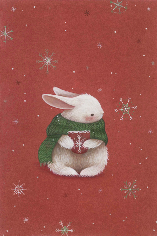 Bunny Final Jpg Wallpaper Iphone Christmas Christmas Phone Wallpaper Cute Christmas Wallpaper