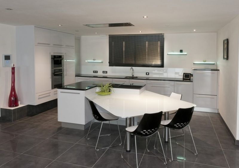 wall e kitchen tia kitchen pinterest - Granite Gris Cuisine