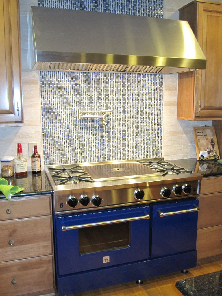 Ok Cabinet Color Glass Mosaic Tile Kitchen Modern