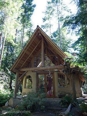 Mientras sueñas con construir tu propia casa natural toma unas ...
