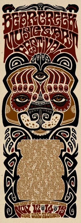 Panic en la Playa DOS | Concert poster art, Art festival poster, Graphic poster